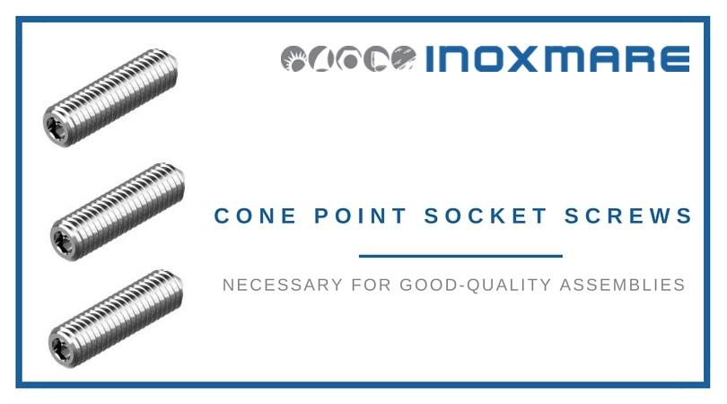 cone point socket set screws