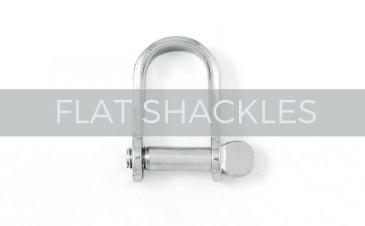 flat shackles