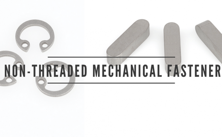 non-threaded mechanical fasteners