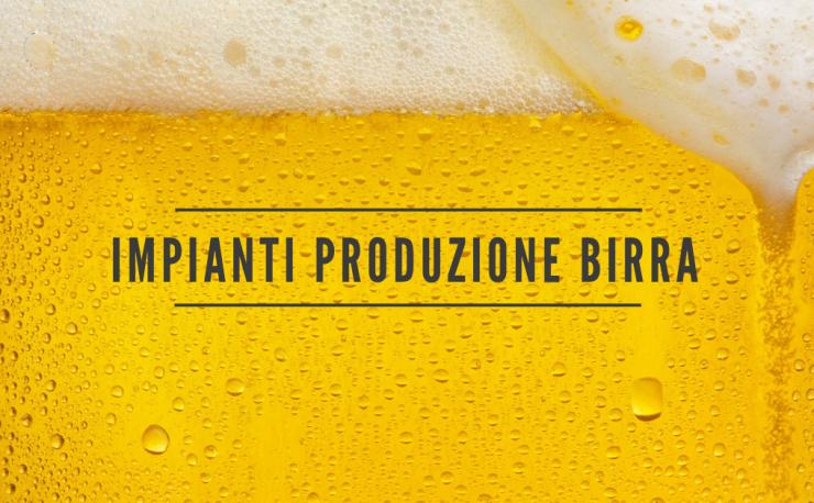 produzione di birra