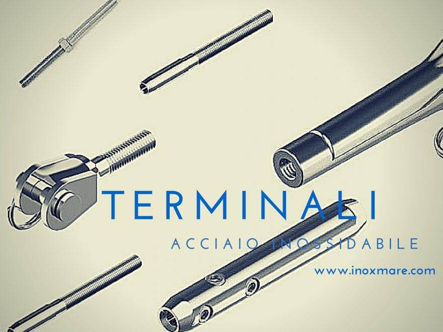 terminali in acciaio