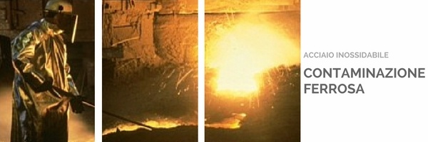 contaminazione ferrosa